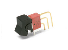 Sealed Miniature Rocker Switch Single Pole Double Throw, On-(On)