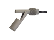 Grey PPS Compact External Fitting by 1/2 inch NPT Float Switch