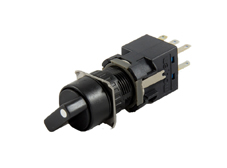 16mm Selector Switch, Round