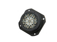19 pin lighting connector panel mount female