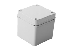 DSE Hi Box 125mm x 125mm x 75mm Enclosure Grey ABS Plastic  Body and Lid