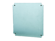 Steel Mounting Plate for 200mm x 200mm Steel Enclosure