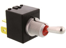 Sealed Power Toggle, Single Pole Single Throw On-Off