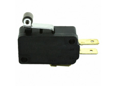 Snap Acting Switch, Miniature, Long Roller Lever Actuator