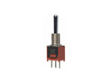 Subminiature Toggle Switch Single Pole Double Throw, On-On