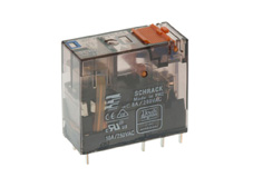 PLUG-IN Relay 8 pin 2 C/O 24VDC 16A, with LED and PD