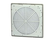 Exit Filter to suit FK5521.230. Panel Mount, RAL7035, IP54. 109x109 External Dimensions.