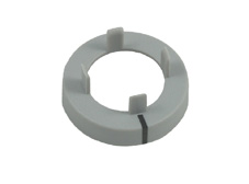 Grey Nut cover with line, 11mm