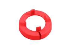 Red Nut cover with line, 15mm