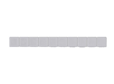 White Terminal Marker (5mm wide)