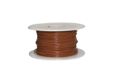 0.5mm² 16/0.20 V90HT Brown Building wire
